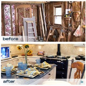 when shelly and brian brouwer purchased their home in mystic connecticut they knew that its 100 year old farmhouse kitchen was in desperate need of help  all star kitchen makeover season 1   sharetv  rh   sharetv com