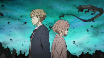 Beyond the Boundary - 01x12 Gray World Screenshot