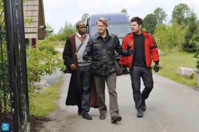 Psych - 08x01 Lock, Stock, Some Smoking Barrels and Burton Guster's Goblet of Fire