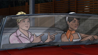 Archer - 05x02 Archer Vice: A Kiss While Dying
