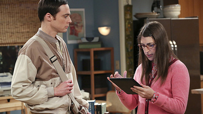 The Big Bang Theory - 07x16 The Table Polarization