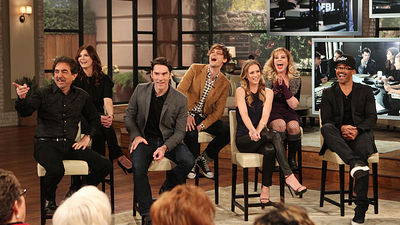 The Talk - 04x96 Joe Mantegna, Thomas Gibson, Shemar Moore, Matthew Gray Gubler, A.J. Cook, Kristen Vangsness, Jeanne