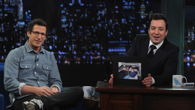 Late Night with Jimmy Fallon - 05x215 Andy Samberg, the Muppets Screenshot