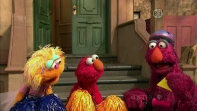 Sesame Street - 41x39 Three Cheers for Us (repeat of 4178)