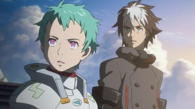 Eureka Seven - 02x24 Gates of Summer Screenshot