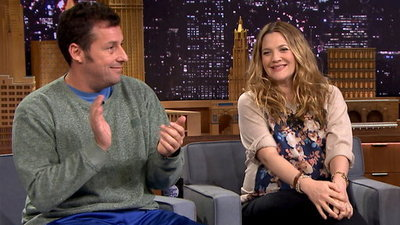 The Tonight Show Starring Jimmy Fallon - 01x08 Drew Barrymore, Adam Sandler, Dierks Bentley
