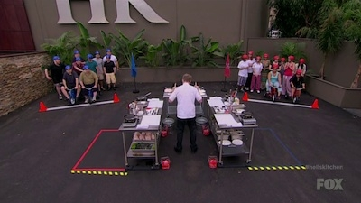 Hell's Kitchen - 12x02 19 Chefs Compete
