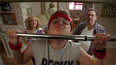 The Goldbergs - 01x19 The President's Fitness Test