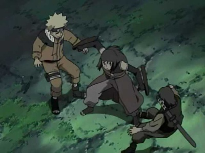 Naruto - 05x09 The Mystery of the Targeted Merchants