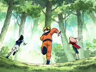 Naruto - 01x10 The Forest of Chakra