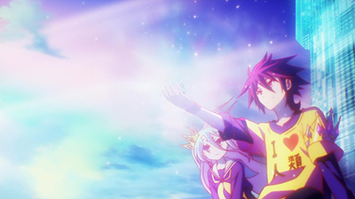 No Game, No Life  - 01x12 Rule Number 10 Screenshot