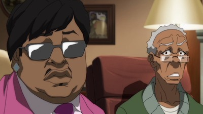 The Boondocks - 04x10 The New Black Screenshot