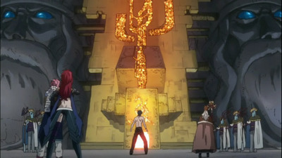 Fairy Tail - 02x41 Dragon Chain Cannon of Demise