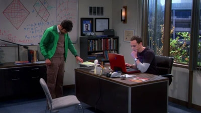 The Big Bang Theory - 08x06 The Expedition Approximation