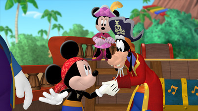 Mickey Mouse Clubhouse - 04x13 Mickey's Pirate Adventure