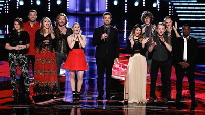 The Voice - 07x15 The Live Playoffs, Night 1