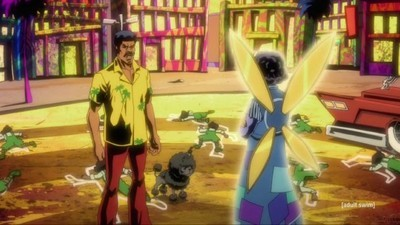 "Black Dynamite - 02x09 The Wizard Of Watts"" or ""Oz Ain't Got S&@; On The Wiz Screenshot"