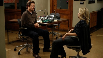 Parks and Recreation - 07x04 Leslie and Ron