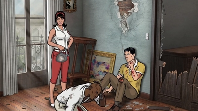Archer - 06x02 Three to Tango