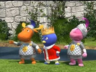 The Backyardigans - 04x19 The Tale of the Not-So-Nice Dragon  Screenshot