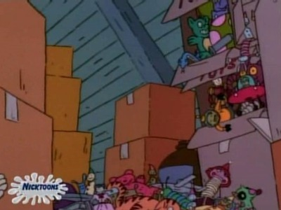 Rugrats - 02x47 Toys In The Attic