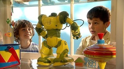 Jason Saves His Money To A Robot From Mr Whoops S Toy But The Spoiled Boy Next Door Gets There First