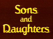Sons and Daughters (AU) TV Series