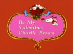 Be My Valentine, Charlie Brown TV Show