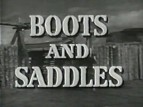 Boots and Saddles TV Show