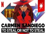 Carmen Sandiego: To Steal or Not to Steal TV Show