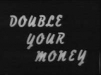 Double Your Money (UK) TV Show