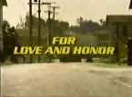 For Love and Honor TV Show