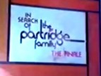 In Search Of The Partridge Family TV Show