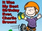 It Was My Best Birthday Ever, Charlie Brown TV Show
