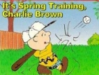 It's Spring Training, Charlie Brown! TV Show