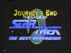 Journey's End: The Saga of Star Trek The Next Generation TV Show