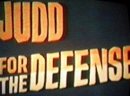 Judd for the Defense TV Show