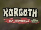 Korgoth of Barbaria TV Show