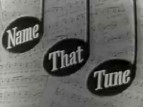 Name That Tune (1953) TV Show