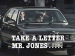 Take a Letter Mr. Jones (UK) TV Show