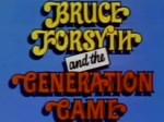 Bruce Forsyth and the Generation Game TV Show