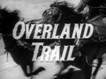 The Overland Trail TV Show