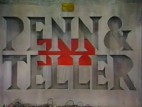 The Unpleasant World of Penn & Teller (UK) TV Show