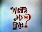 What's My Line? TV Show