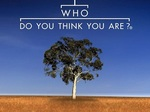 Who Do You Think You Are? (AU) TV Show