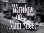 Window on Main Street TV Show
