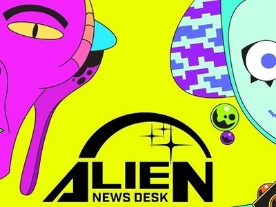 Alien News Desk tv show photo
