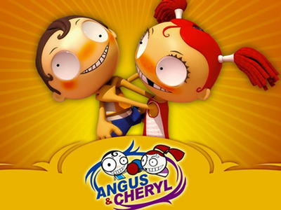 Angus & Cheryl tv show photo