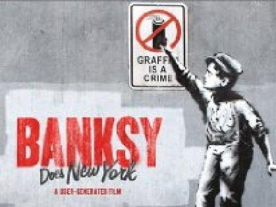 Banksy Does New York tv show photo