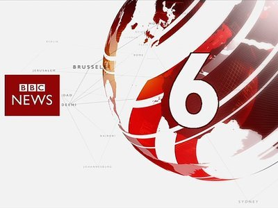 BBC News at 6:45pm (UK)